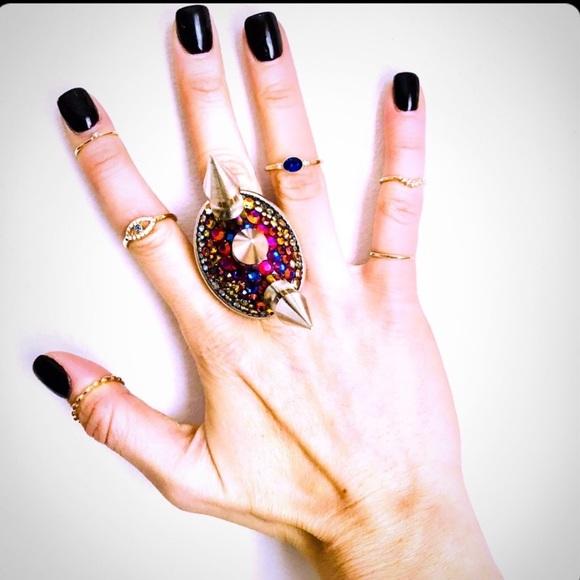 "Tarina Tarantino Jewelry - Tarina Rare Piece from ""Dinosaur""collection"